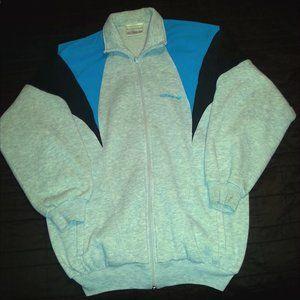 vintage Adidas track sweatshirt jacket